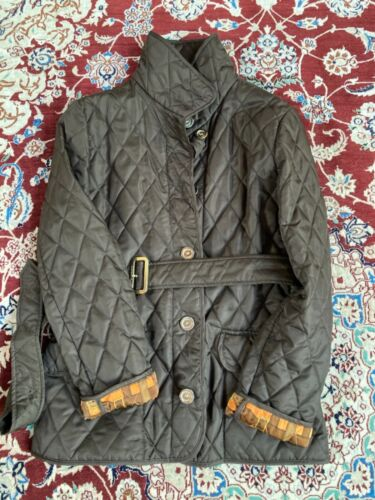 Burberry womens quilted jacket - image 1