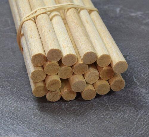 WWS Balsa Wood Dowel 10mm (3/8) Diameter 305mm (12) Long - 9 Pack – Model