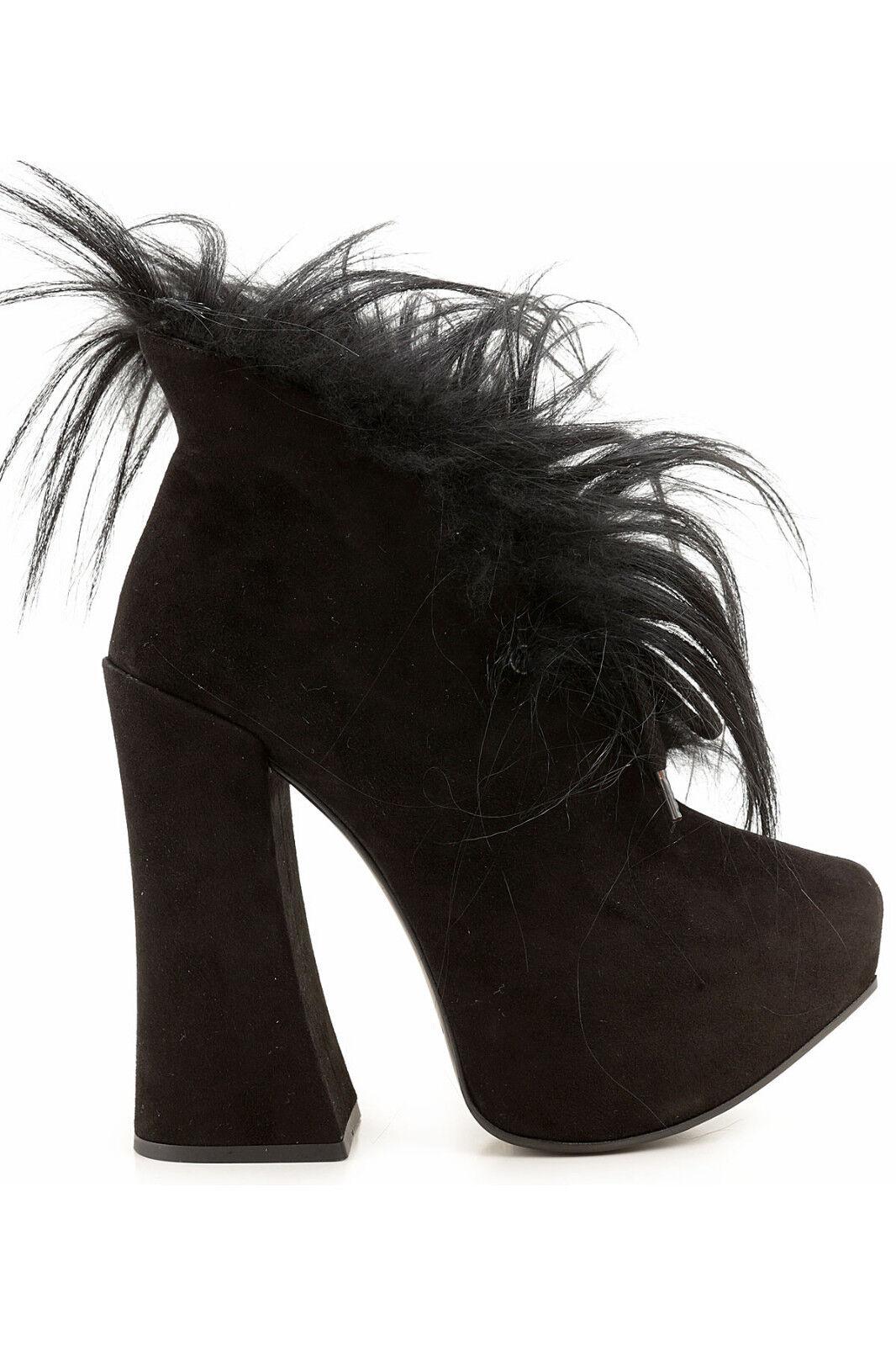 Vivienne Westwood Stivaletto Show fur, Show fur boots