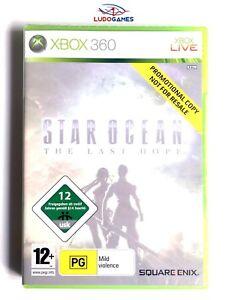 Star-Ocean-Last-Hope-Xbox-360-Neuf-Scelle-Promo-Scelle-Produit-Nouveau-Pal-Eur