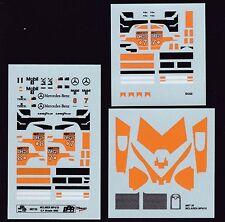 NEU BBR Decal Sheet MET35 McLaren MP4/10 G.P.Brasil 1995 Nr7/8  Scale 1/43