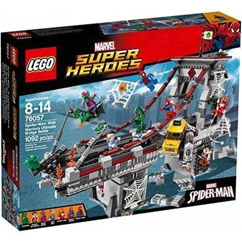 76057 WEB WARRIORS ULTIMATE BRIDGE BATTLE lego NEW legos set Scorpion spider man