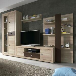 Mueble de comedor con leds conjunto comedor salon vitrina modulo tv julieta ebay - Conjunto muebles salon ...