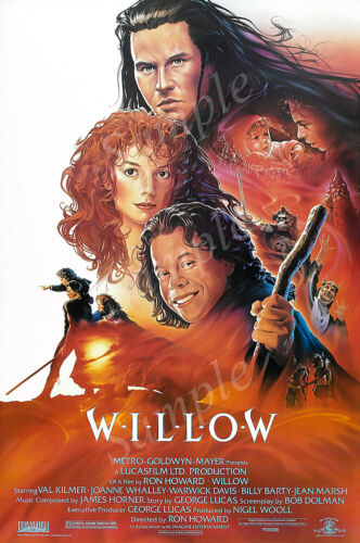 Posters USA PRM550 Willow 1998 Movie Poster Glossy Finish