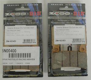 ZCOO-2-COPPIE-PASTIGLIE-FRENO-ANTERIORE-EX-PER-HONDA-VTR-SP1-RC51-1000-2000-2001