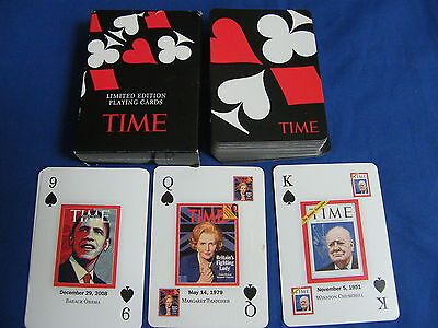 Deck of Playing Cards. Time Magazine 2009. Limited Edition