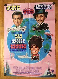 Grosse-Rennen-rund-um-die-Welt-B-Kinoplakat-039-65-Tony-Curtis-Natalie-Wood