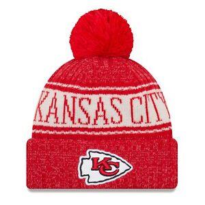 Kansas City Chiefs Era Knit Hat on Field 2018 Sideline Beanie Stocking Cap 0a265457c51