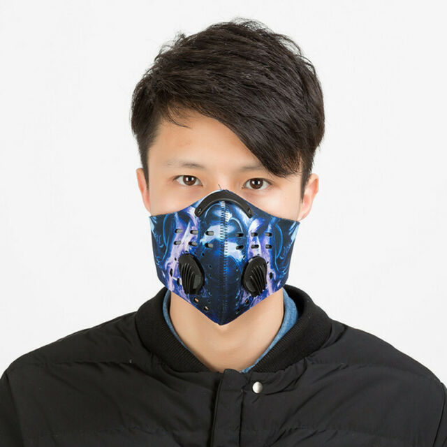 Anti Dust Half Face Mask Filter Riding Breath Mask Motorcycle Cycling Outdoor For Sale Online Ebay