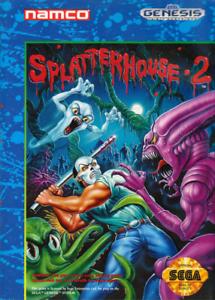 Splatterhouse 2 Sega Genesis Great Condition Fast Shipping