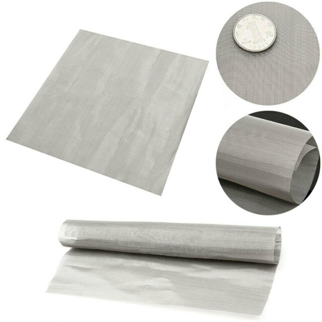 Wire Cloth Filter   100 Mesh Stainless Steel Wire Cloth Screen Water Filtration Filter