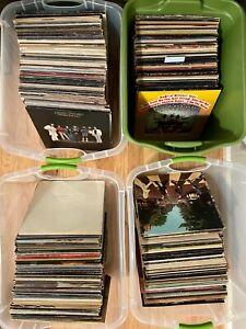 UPDATED!! Quality Vinyl Lp Album Lot Classic Rock Pop New Wave 60s 70s 80s UPick