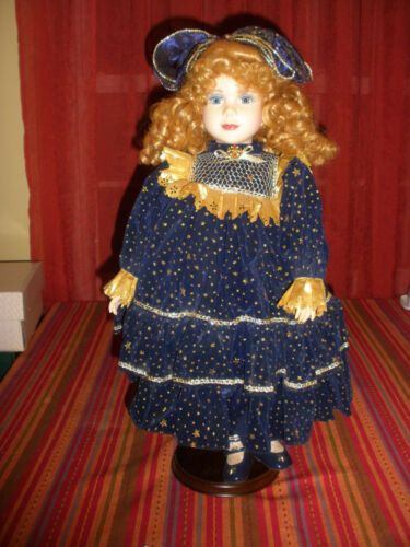"""Celeste"" Camelot Sun Moon & Stars 20"" Limited Edition Porcelain Doll"