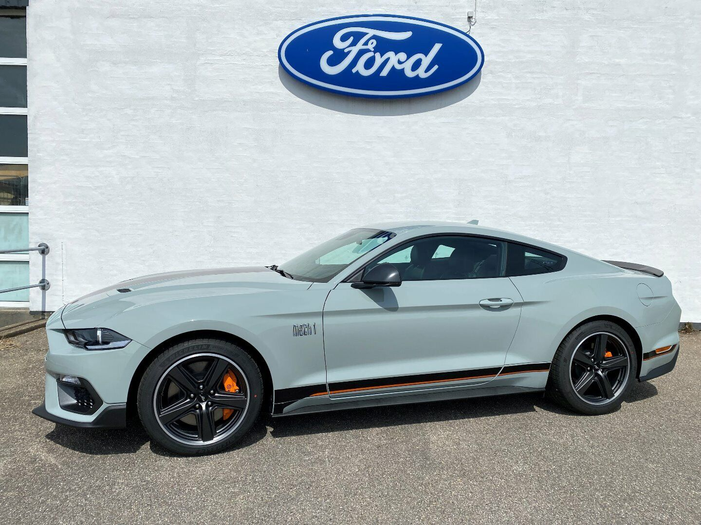 Ford Mustang 5,0 V8 GT Fastback Mach 1 2d