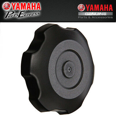 Tusk Billet Aluminum Gas Cap YAMAHA GRIZZLY 125 2008–2013 Black Machined