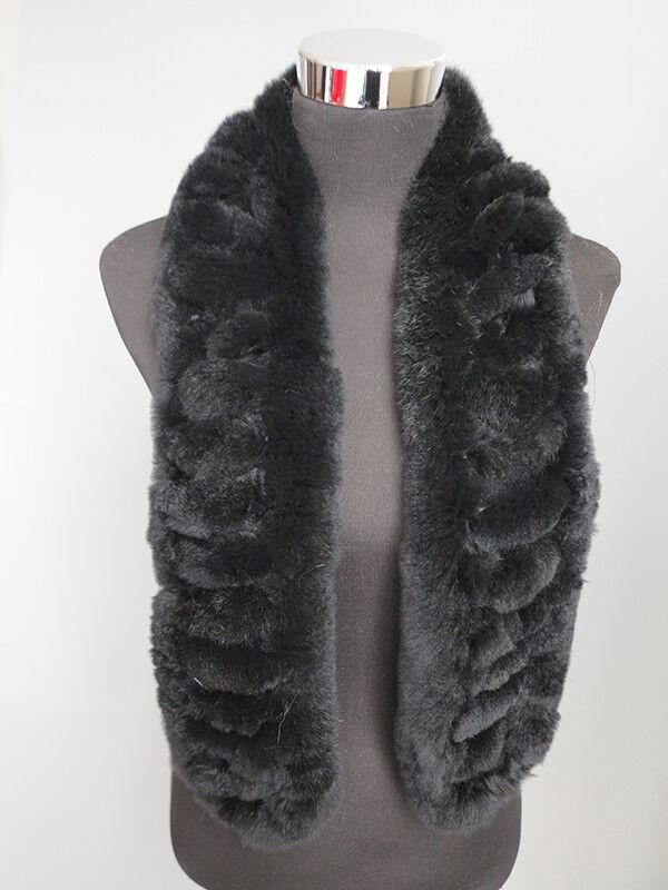 Handmade 100% real rex rabbit fur scarf /cape/ wrap/sha