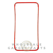 Digitizer Frame for Apple iPhone 4S CDMA GSM Red Front Window Panel