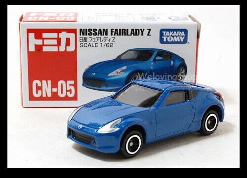 A TOMICA CN-05 NISSAN FAIRLADY Z 1//62 TOMY DIECAST CAR New blue