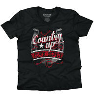 Country Up Down South Cute Country Girl Sassy Dixie Gift Ideas V-neck T-shirt