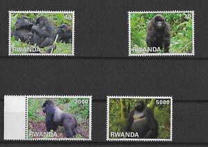 Rwanda - 1424/1427 - Gorilles - 2010 - MNH - 1424/1427**
