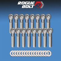 Ford 351w Intake Manifold Bolts Stainless Steel Kit Small Block Ford Pre-77 Sbf