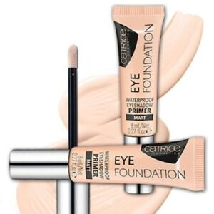 Details About Catrice Cosmetics Eye Foundation Waterproof Eyeshadow Primer Base Makeup 8ml