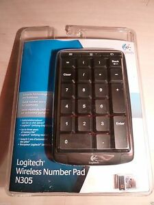 1d3b896eb45 Image is loading NEW-BLUE-Exclusive-Number-Pad-Keyboard-LOGITECH-N305-