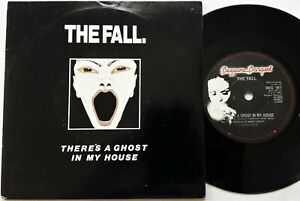 The-Fall-There-039-s-A-Ghost-In-My-House-7-034-Single-1987-1st-UK-Beggars-Banquet-EX