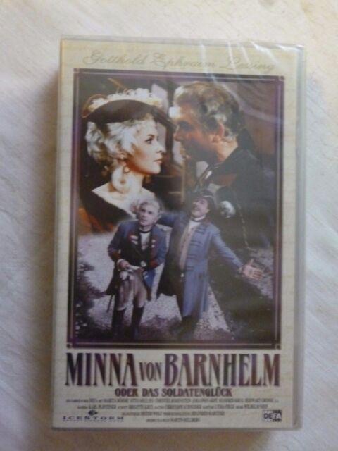 Minna von Barnhelm oder das Soldatenglück FSK ab 6 Jahre VHS NEU