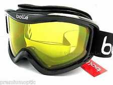BOLLE medium-large MOJO Ski Snowboard Goggles Shiny Black / Yellow CAT.1  20573