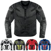 Icon Overlord Widerstand Motorrad Motorrad Textiljacke Alle Größen & Farben