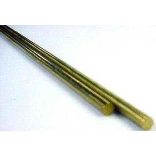 x 36 In K/&S 1//16 In 2-Count Solid Brass Rod