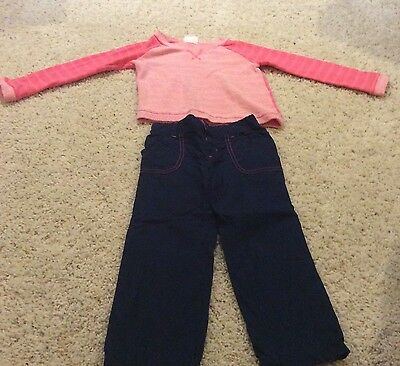 NWT Crazy 8 SNOW EXTREME Boys Size 3T 4T Fleece Pants /& Pullover Shirt 2-PC SET