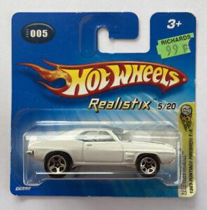 2005 HOTWHEELS 1969 69 Pontiac Firebird T/un American Muscle! molto RARO! Nuovo di zecca!