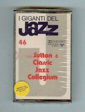 GIANTS OF JAZZ  #46 - RALPH SUTTON & CLASSIC JAZZ COLLEGIUM - CASSETTE - NEW