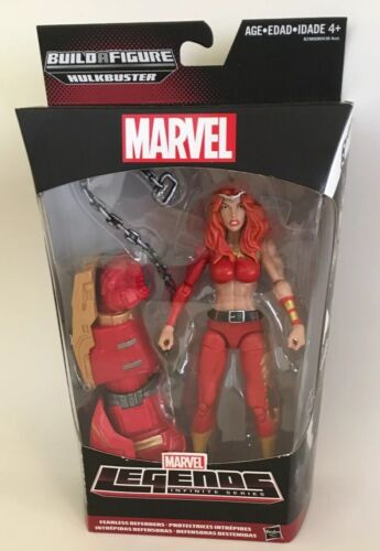 Marvel Legends Infinite Series Thundra Fearless Defenders Figure Hulkbuster NOUVEAU