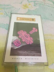 Level 42 World Machine Cassette Album 1985 042282748744
