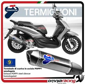 Termignoni-RELEVANCE-Tubo-de-Escape-poppy-Piaggio-MP3-Hybrid-300-LT-08-gt-14