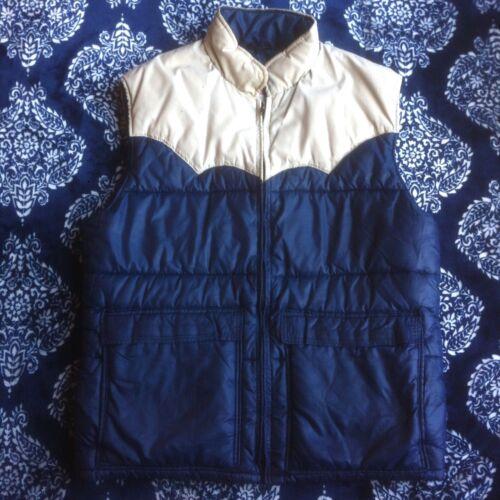VTG Frostline Kit Puffer Vest 1970s Size Mens Medi