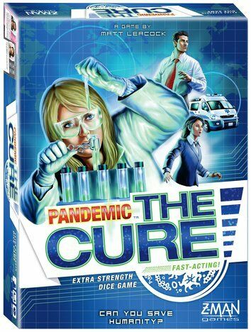 Pandemic  The Cure Dice Game Z-Man Games BRAND NEW ABUGames