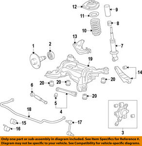 image is loading chevrolet-gm-oem-10-15-camaro-rear-suspension-
