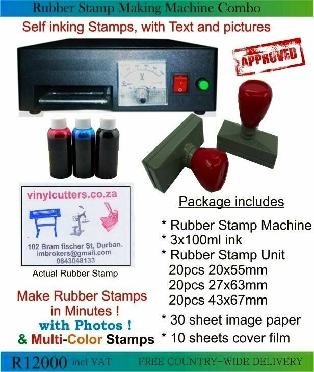 Start Your Own Rubber Stamp Business