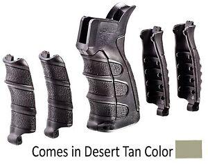 Brillant Upg16-s Caa Tactical Desert Tan 6 Pièces Interchangeables Grip Faite De Polymère-e Grip Made Of Polymer Fr-fr Afficher Le Titre D'origine