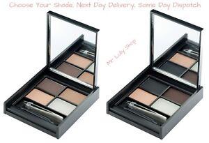 MUA-Brow-Kit-With-Wax-3-Colours-Brush-Tweezers-amp-Mirror-Shape-Shade-Highlight