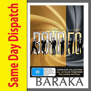 Bond-50-James-Bond-007-Complete-Collection-DVD-Box-Set-23-films-Skyfall-included