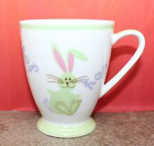 Starbucks Coffee Easter Bunny Rabbit Hop Children Child Mug Cup 2007 Spring 7oz