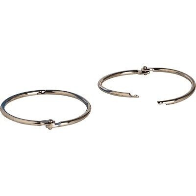 Silver 01439 Sparco Book Rings Nickel Plated 50 // Box
