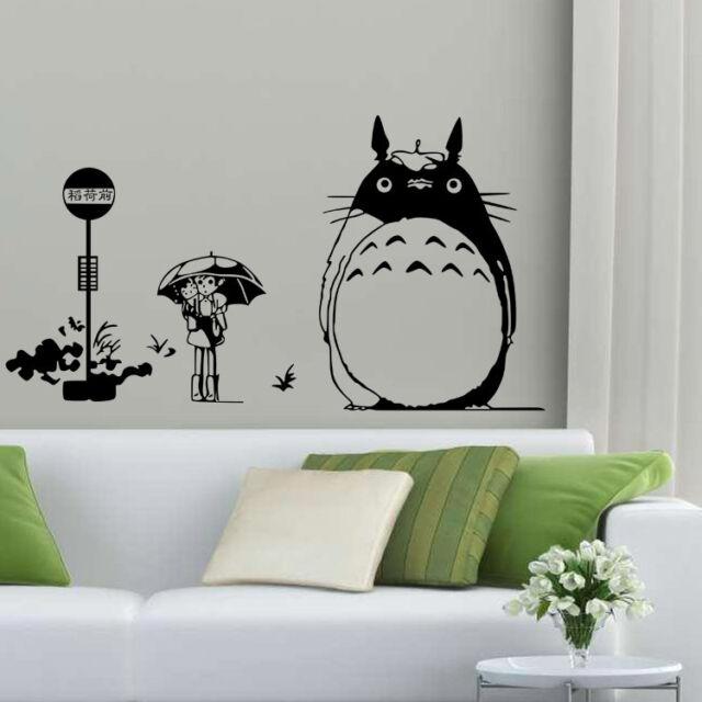 My Neighbor Totoro Wall Stickers Kid's Bedroom Mural Decals Home Decor Art #1