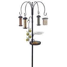 "Gardman BA01343 Complete Bird Feeding Station Kit with Four Feeders, 6'1"" High"