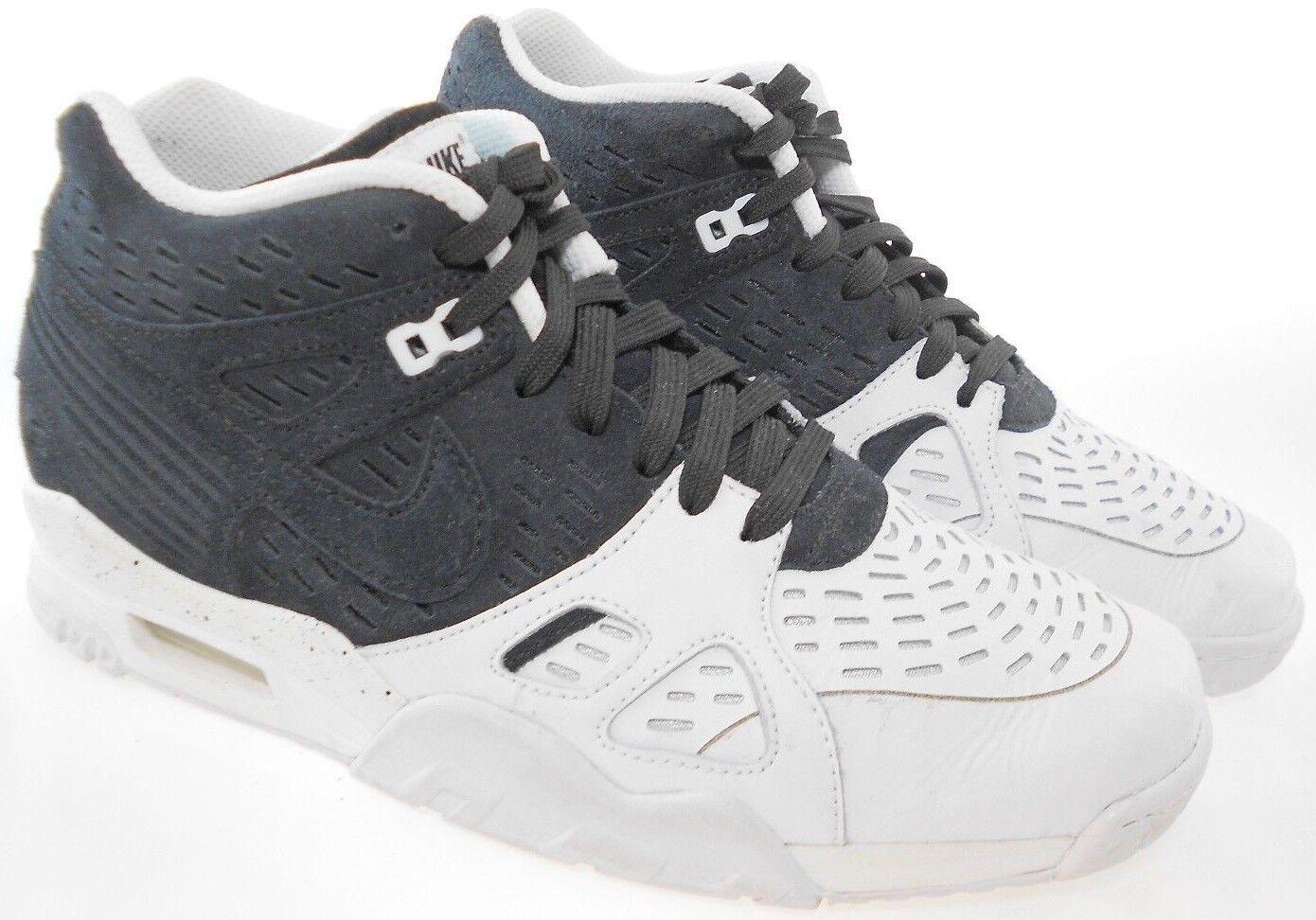 Nike Air Trainer III de del los hombres del de cuero blanco / negro zapatos de entrenamiento reduccion de precio el modelo mas vendido de la marca 6e3fcb